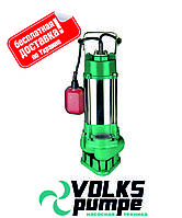 Насос фекальный с режущим механизмом VOLKS  V750 DF 0,75 кВт