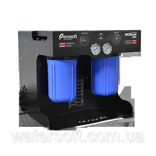 Проточный обратный осмос Ecosoft RObust 3000
