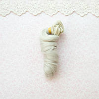 Волосы для кукол локоны в трессах, пепел - 15 см