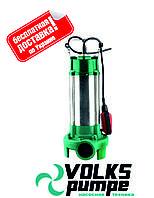 Насос фекальный с режущим механизмом VOLKS V1300 DF 1.3 кВт