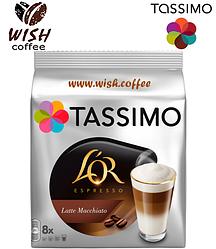 Кофе в капсулах Тассимо - Tassimo L'or Latte Macchiato (8 порций)