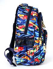 Школьный рюкзак с ортопедической спинкой и с 3Д рисунком, фото 3