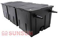 Напорный фильтр для пруда SunSun CBF-350B-UV (до 60 000 л, УФ 24 вт)