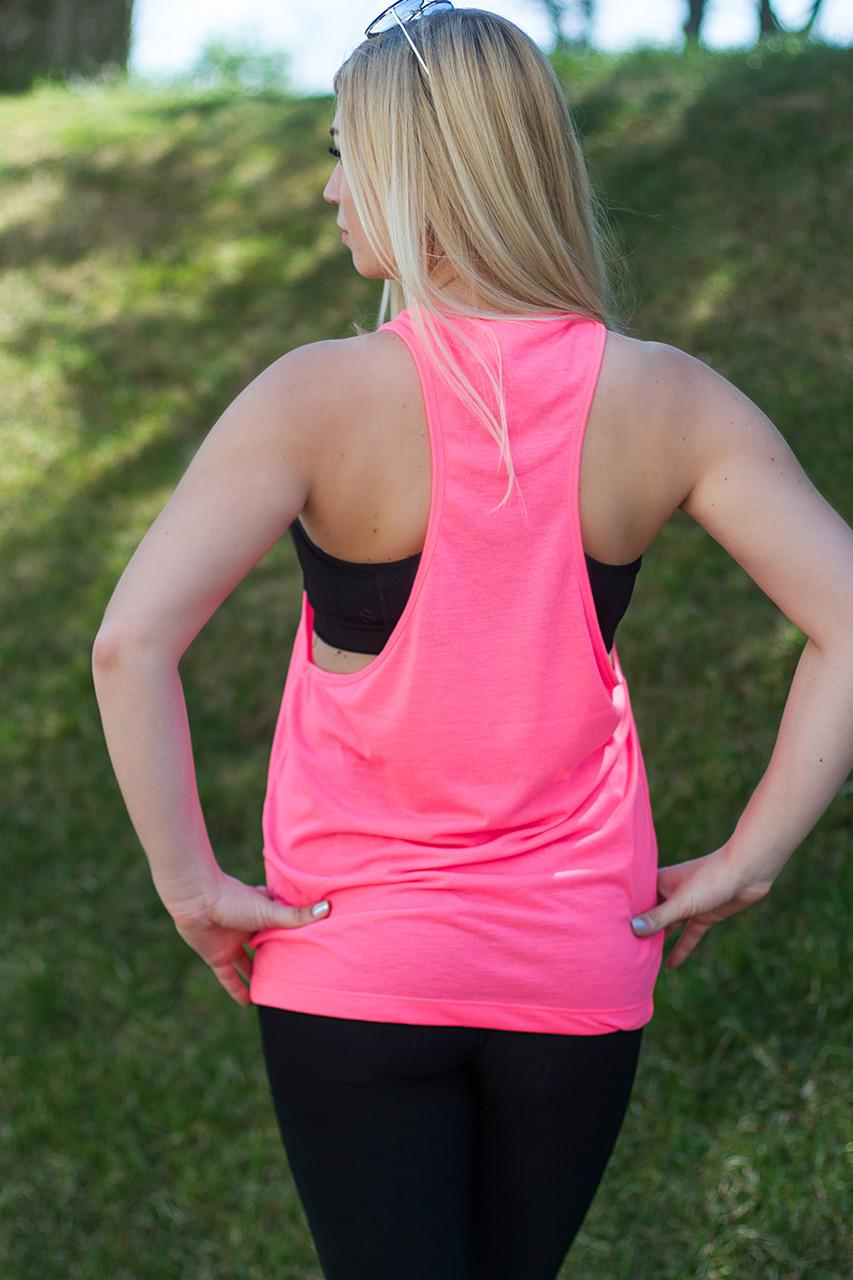 Женская майка-борцовка JHK T-Shirt цвет розовый