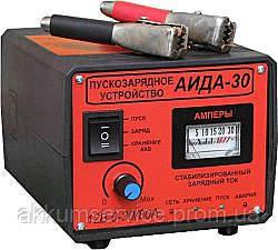 """Пуско-зарядний пристрій """"Аїда 30"""" для АКБ 12В 6-500А*год"""