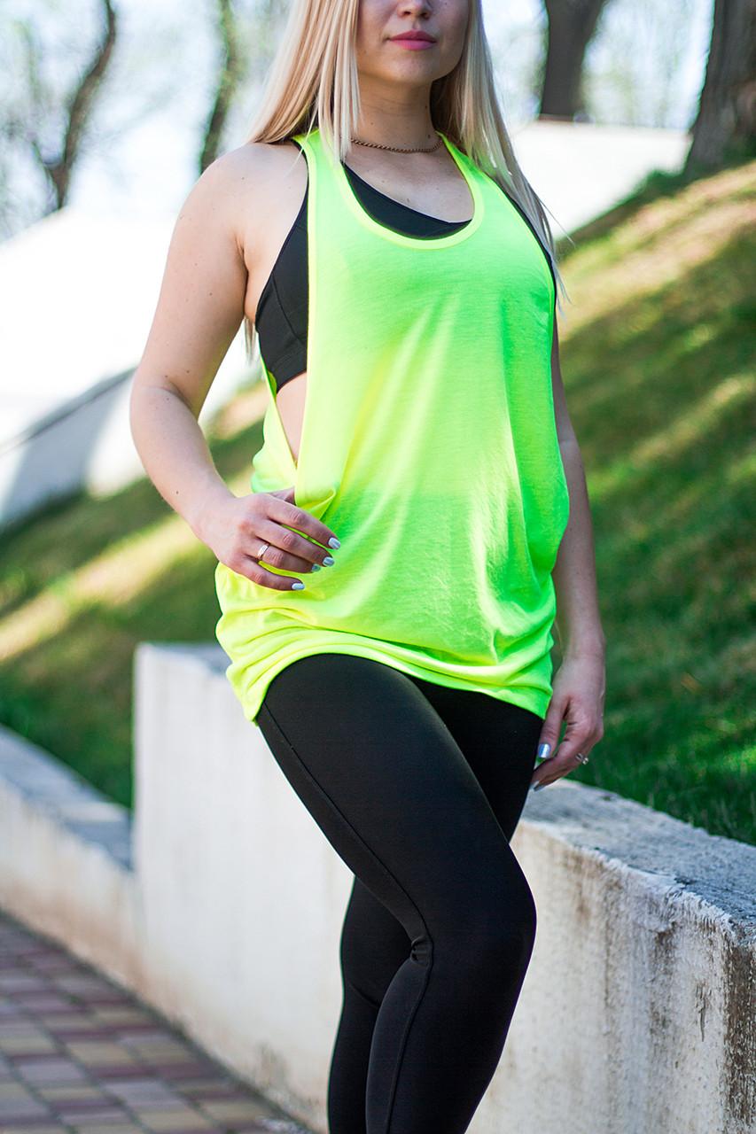 Женская майка-борцовка JHK T-Shirt цвет салатовая
