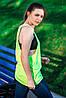 Женская майка-борцовка JHK T-Shirt цвет салатовая, фото 2