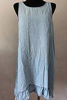 Платье джинсовое на брительках, фото 1