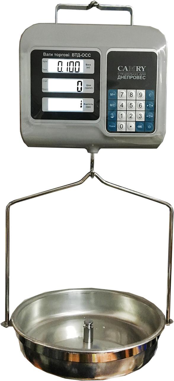 Весы торговые Camry ВТД-ОСС (30 кг)