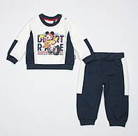 Костюм для мальчика Original Marines Disney baby 74 см бело-синий