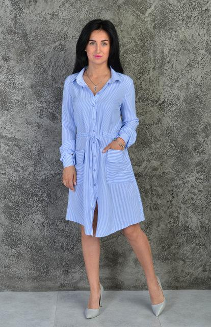 Летняя рубашка-платье