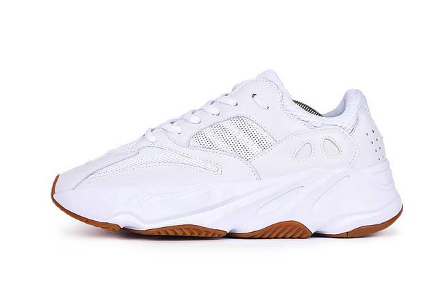 Мужские кроссовки Adidas Yeezy 700 Boost White Gum, фото 2