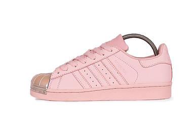 Женские кроссовки adidas Superstar 80s Metal Toe W (Icey Pink / Icey Pink / Icey Pink)