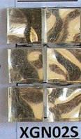 Плитка для мозаики premium 10х10х4 мм золотая