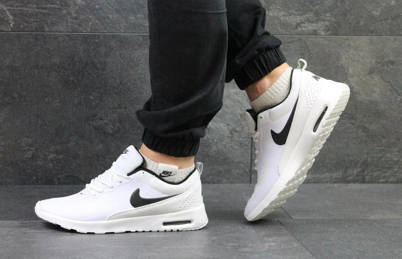 e3be9f12 Мужские кроссовки в стиле Nike Air Max Thea, белого цвета/ кроссовки Найк  Аир Макс