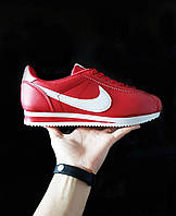 Мужские кроссовки Nike  Cortez найк кортез красные - Материал: экокожа  подошва: пена размеры:40-44 Вьетнам