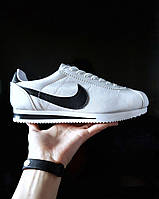 Мужские кроссовки Nike  Cortez найк кортез белые- Материал: экокожа  подошва: пена размеры:40-44 Вьетнам