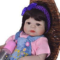Кукла реборн девочка полностью из винил-силикона / Кукла,пупс reborn, фото 1