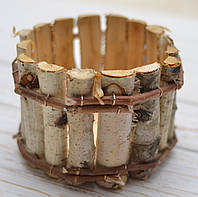 Кашпо из коры березы, фото 1