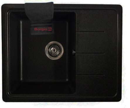 Мойка гранитная PRM-620x500 (черный)