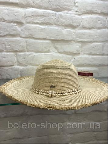 Шляпа женская соломенная Италия, фото 2