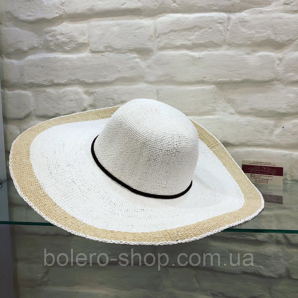 Шляпа женская соломенная Италия