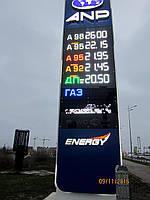 Световая стела для АЗС, фото 1