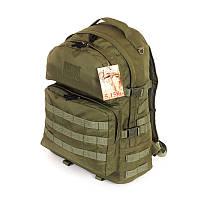 Рюкзак тактический 40 литров Нейлон 600D Оливковый