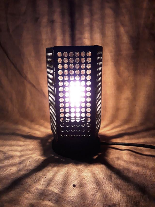 светильник в стиле стимпанк в порошковой покраске