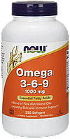 Рыбий жир NOW Omega 3-6-9 250 softgels