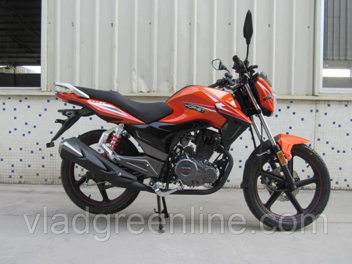 Мотоцикл HORNET GT-150 (150 куб. cм) кирпичный