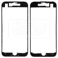 Рамка крепления дисплея iPhone 7 черная