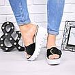 """Шлепки, тапки, сланцы, """"Peli"""" велюр, летняя, повседневная обувь шлепки женские, фото 2"""