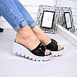 """Шлепки, тапки, сланцы, """"Peli"""" велюр, летняя, повседневная обувь шлепки женские, фото 4"""