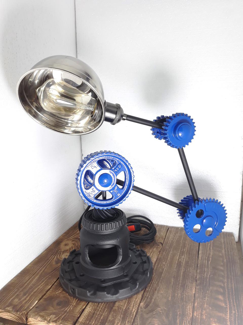 Лампа лофт трансформер стимпанк