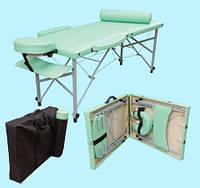 Складной массажный стол Панда алюминиевый, Массажный стол Панда (полный комплект)