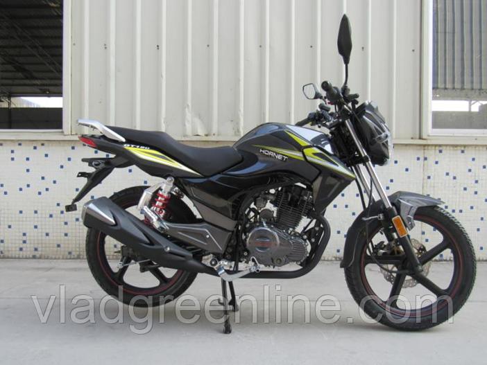 Мотоцикл HORNET GT-150 (150 куб. cм) мокрый асфальт