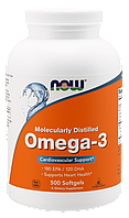 Рыбий жир NOW Omega-3 500 softgels