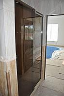 Стеклянная раздвижная душевая кабина (Италия), фото 1