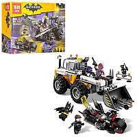 """Конструктор Бэтмен """"ВATLEADER"""" машина джип, мотоцикл, фигурки, 594 деталей, 07082, копия лего"""