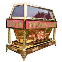Гробница под плащаницу Спасителя из булата (130х60см)