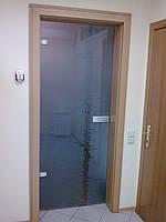 Стеклянные двери в коробке (МДФ), фото 1