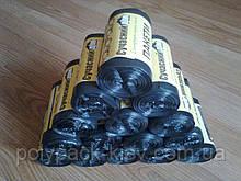 Сміттєві пакети 35л, 50 шт. в рулоні, міцні мішки для сміття, сміттєвий пакет купити від виробника Київ