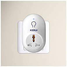 Умная смарт розетка Kerui S71 (433 мГц), фото 3