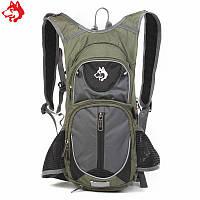 Рюкзак для гидратора Hasky зеленый , фото 1