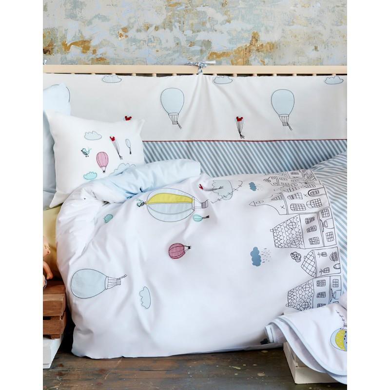 Постільна білизна для немовлят Karaca Home - Balloon 2018-1 аплікація