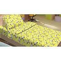Детское постельное белье для младенцев Lotus ранфорс - PeTi желтый