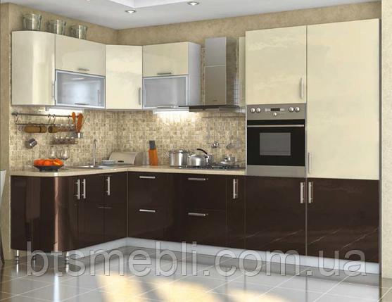Кухня High Gloss 1.7м*3.2м, фото 2