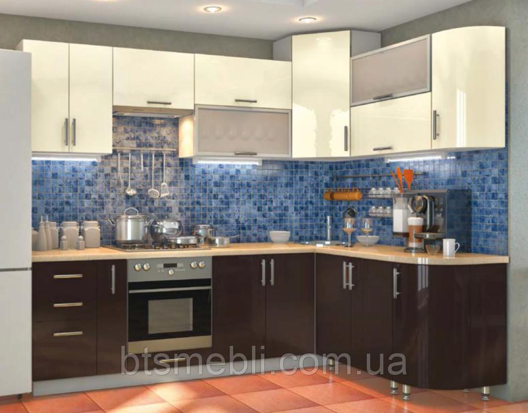 Кухня High Gloss 2.6м*1.7м