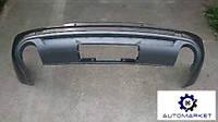 Бампер задний нижняя часть (-09) Audi Q7 2005-2014 (4L)